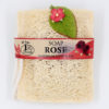 Loofah bag-soap-rose